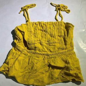 4/$25!!  Harper Heritage Mustard Yellow Tank Top